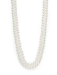 Saks Fifth Avenue 8Mm Simulated Pearl Necklace 48