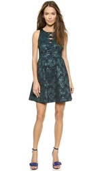 Nanette Lepore Masquerade Dress Emerald