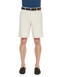Peter Millar Salem High Drape Performance Shorts Soft Beige