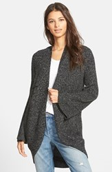 Women's Hinge Bell Sleeve Cardigan Grey Charcoal
