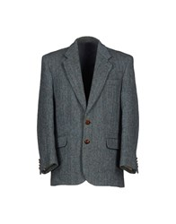 Harris Tweed Suits And Jackets Blazers Men Light Green