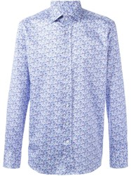 Etro Paisley Print Shirt Pink And Purple