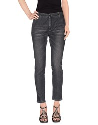Daniele Alessandrini Denim Denim Trousers Women Steel Grey