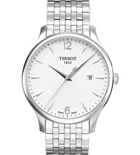 Tissot T063.610.11.037.00 Tradition Stainless Steel Watch