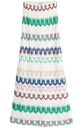 Missoni Crochet Knit Maxi Skirt