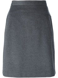 Steffen Schraut High Waisted Skirt Grey
