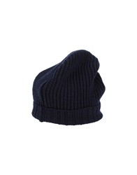 People Hats Dark Blue