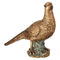 John Lewis Ruskin House Standing Pheasant Decoration Copper