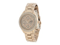 Citizen Fd1063 57X Eco Drive Pov 2.0 Rose Gold Tone Swarovski Crystal Watch Rose Gold Two Tone Stainless Steel Watches
