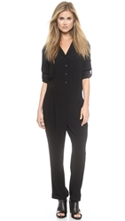Rag And Bone Rose Jumpsuit Black