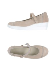 Ruco Line Footwear Courts Women Beige