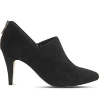 Office Faithful Suede Shoe Boots Black Suede