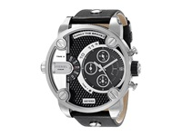 Diesel Little Daddy Dz7256 Silver Black Analog Watches Gray