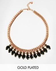 Ted Baker Pear Drop Necklace Black