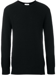 Soulland 'Ricketts' Honey Comb Sweater Black