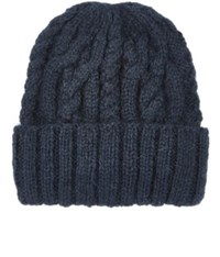 Eugenia Kim Women's Rib Knit Alpaca Hat Navy