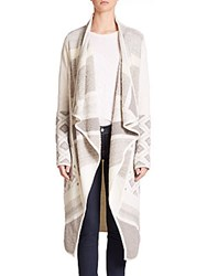 Vince Wool Blend Cape Off White