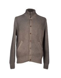 Altea Knitwear Cardigans Men Khaki