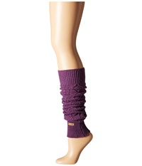 Toesox Leg Warmer Knee Highs Plum Women's Knee High Socks Shoes Purple
