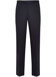 Austin Reed Plain Tailored Fit Suit Trousers Navy