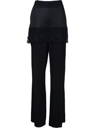 Givenchy Skirted Trousers Black