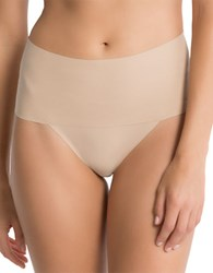 Spanx Undie Tectable Thong Soft Nude