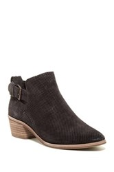 Dolce Vita Katch Perforated Ankle Bootie Gray