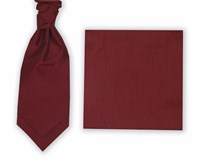 Skopes Wedding Package Cravat And Pocket Square Ruby
