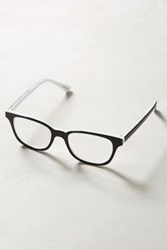 Anthropologie Laureate Reading Glasses Black And White