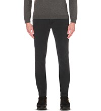 Hugo Boss Slim Fit Tapered Jeans Charcoal