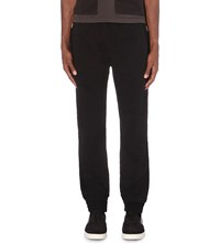 Blood Brother Navigate Cotton Jersey Jogging Bottoms Black