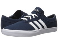 Adidas Sellwood Collegiate Navy White White Men's Skate Shoes