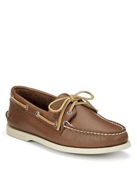 Sperry Authentic Original 2 Eye Boat Shoes Tan