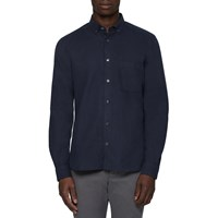 Ymc Navy Jan And Dean Shirt Blue
