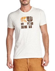 Cult Of Individuality Square Logo Tee Cream