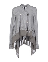 High Cardigans Light Grey