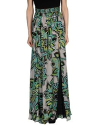 Marco Bologna Long Skirts Green