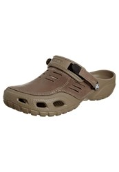 Crocs Yukon Sport Sandals Khaki Coffee