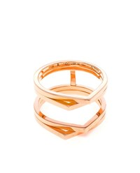 Repossi 18K Rose Gold Antifier Ring