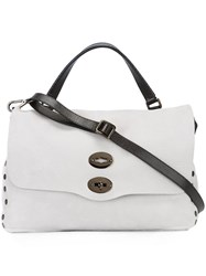 Zanellato 'Ardesia' Shoulder Bag Grey