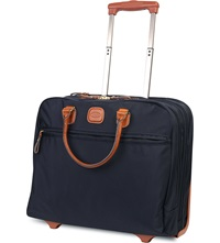 Brics X Travel Business Briefcase Ocean Blue