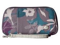 Haiku Fortitude Flower Fall Print Handbags Purple