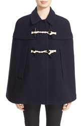 Women's Burberry Brit 'Capsmoore' Wool And Cashmere Cape