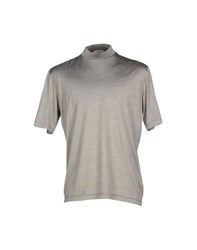 Gran Sasso Topwear T Shirts Men Grey