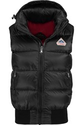 Pyrenex New Mythic Quilted Glossed Shell Down Gilet Black