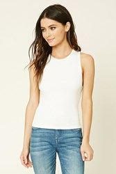 Forever 21 Ribbed Knit Tank