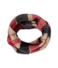 Thirtytwo Douglass Neck Gaitor Red Plaid Scarves