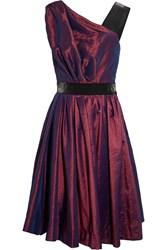 Vivienne Westwood Star Taffeta And Satin Dress Red