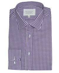 Double Two Men's Paradigm By Formal Shirt Purple