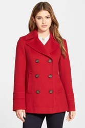 Fleurette Wool Peacoat Nordstrom Exclusive Red